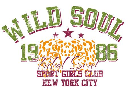 wild soul printing design art Illustration