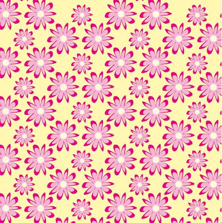 flower with leaf pattern art