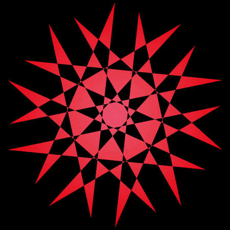 Background with geometric shapes art