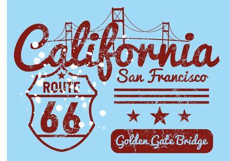 california city united state of america vector art