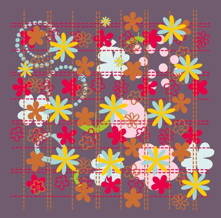 flower pattern vector art
