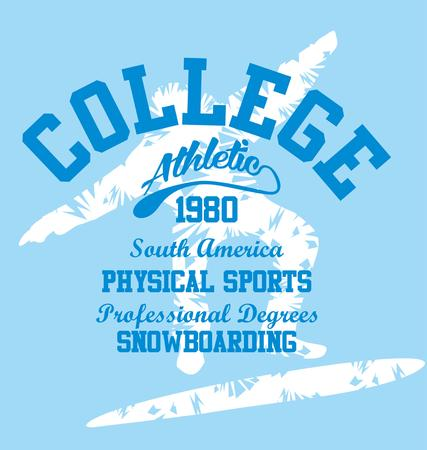 winter sports vector art