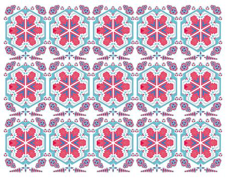 geometric ethnic design vector art Stock Vector - 29615022