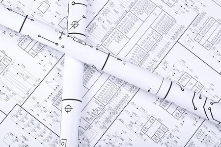 dibujo tecnico: Dibujos enrollada en un tubo