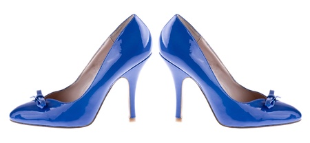 lustre: Pair women s shoes Stock Photo