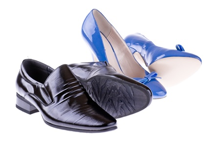 Men s and women s shoes photo