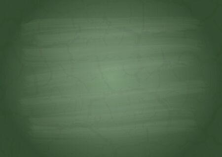 slate: Empty on a green school board