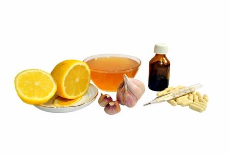 укрепление: Продукты укрепления иммунитета и защиты от холода Фото со стока
