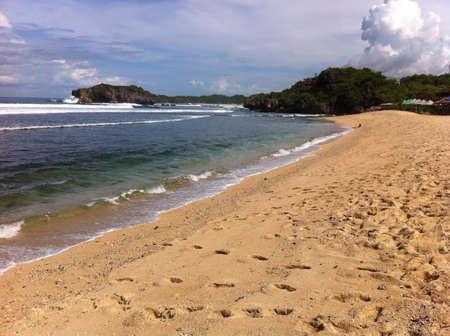 yogyakarta: Gunung kidul beach yogyakarta