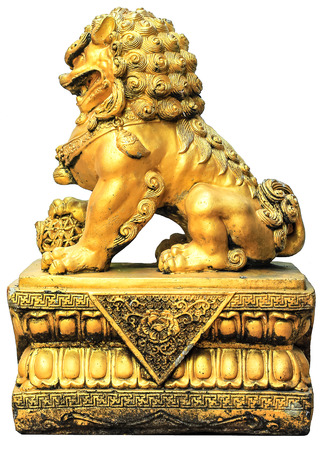 allegory painting: Chinese Imperial Lion