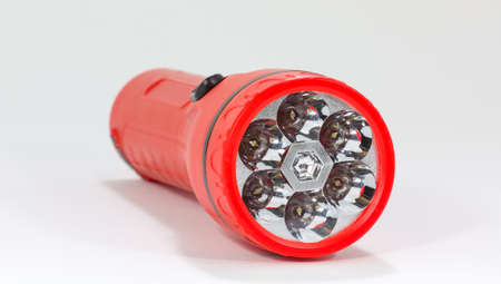 torchlight: front of a flashlight Stock Photo