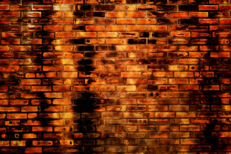 brick grunge texture, wall background photo