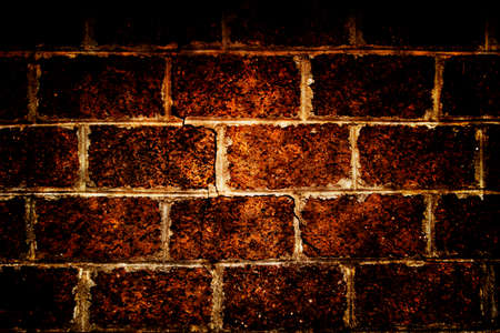 brick laterite grunge texture, wall background photo