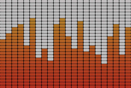 Equalizer orange signal photo