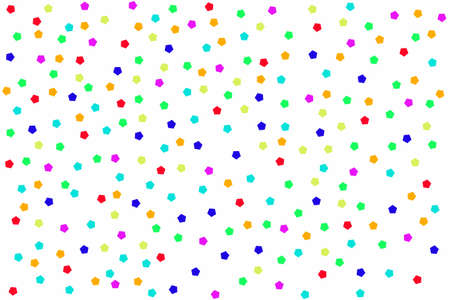 pentagon: background with colorful pentagon on white.