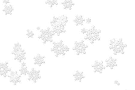 red blue christmas background with big snowflake in the middle photo