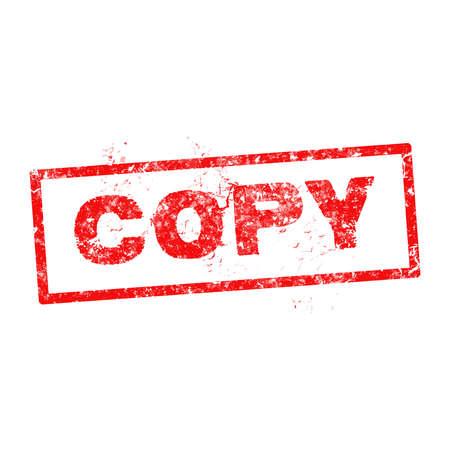 Grunge copy rubber stamp,illustration.