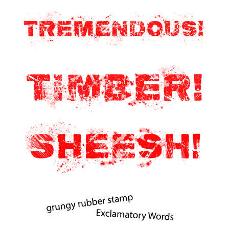 tremendous: Grunge rubber stamp with text Tremendous Timber Sheesh ,vector illustration