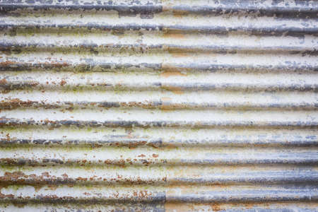 galvanize: Close up of  brown rusty and old galvanize iron. Stock Photo