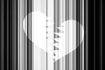 lineas verticales: Fondo de San Valent�n negro, con l�neas verticales en blanco y negro