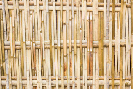 rural areas: Bamboo fences in rural areas, horizontal background