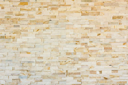 Contemporary and Luxury style marble brick wall pattern background. photo