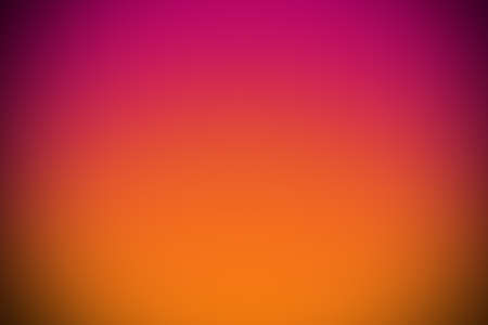 carmine: pink orange gradient abstract curve background with vignette. Stock Photo