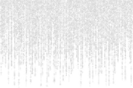 grey matrix with shadow on white background.