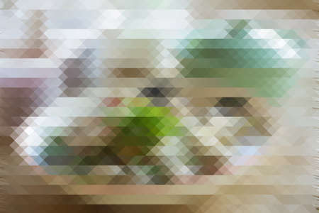 pixelation: colorful triangle pixelation effect filter abstract background