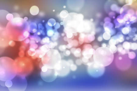 flux: Smooth abstract colorful background with beautiful bokeh Stock Photo