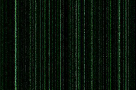 reloaded: light green digital codes background in matrix style