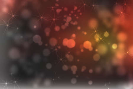 fandango: holiday background with red black festive elegant abstract background with beautiful twinkling bokeh Stock Photo
