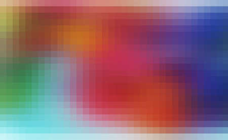 brilliancy: magic colorful blur abstract background with beautiful square pattern texture mosaic filter Stock Photo