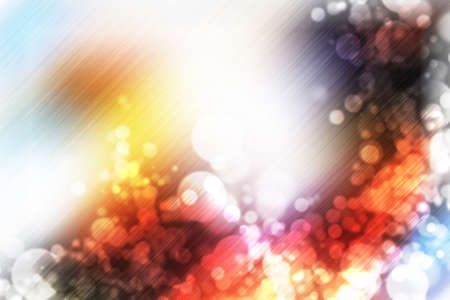 illustration of soft colored abstract background with beautiful glitter twinkling bokeh Stock Photo