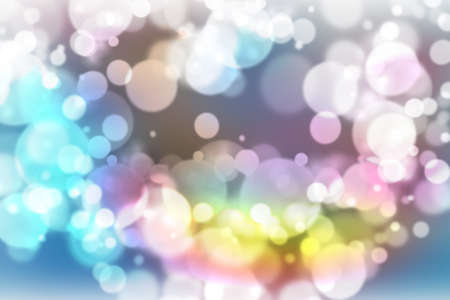 brilliancy: illustration of soft colored abstract background with beautiful glitter twinkling bokeh Stock Photo