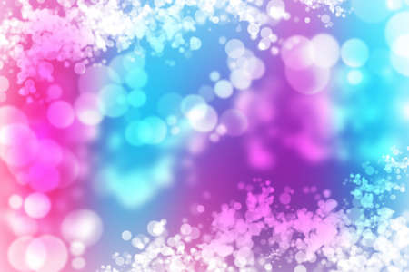 brilliancy: illustration of soft blue purple pink violet white abstract background with beautiful glitter twinkling boke