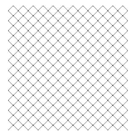 illustration vector of Steel Wire Mesh Seamless Background Ilustração