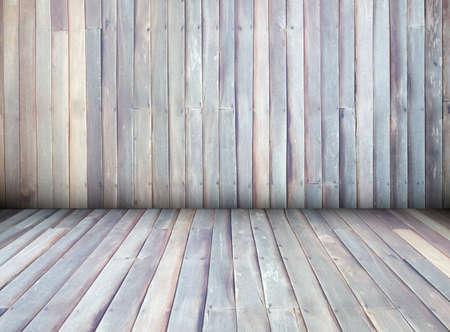 Interior de madera textura de la casa pared de fondo, la perspectiva