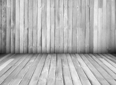 straggly: black and white interior of wooden house texture background wall, perspective
