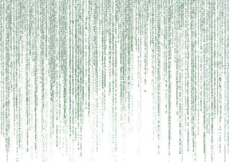 matrix code: matrix code on white background