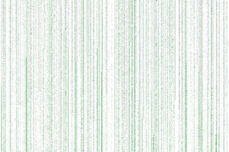 bytes: lines of green white matrix falling on the white background