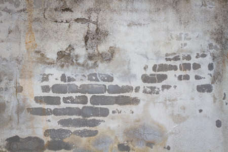 concrete wall with texture of bricks and grunge background. 版權商用圖片