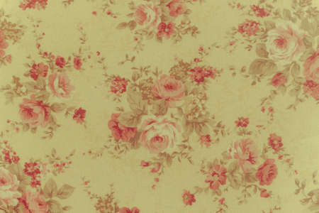 fabrick: classic romantic vintage rose textile background. Stock Photo