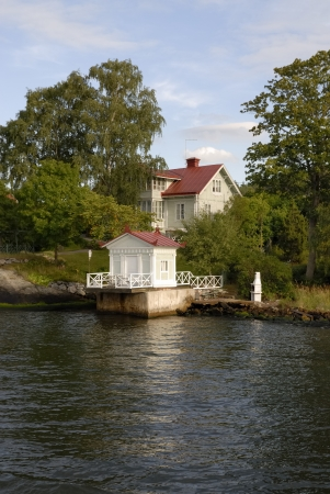Swedish summer house in the Stockholm archipelago
