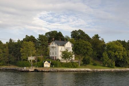 croft:  Swedish summer house in the Stockholm archipelago Editorial