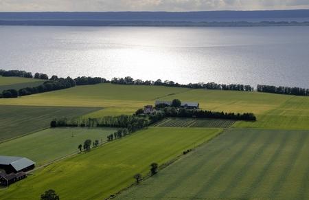 scandinavian peninsula: Swedish landscape Stock Photo
