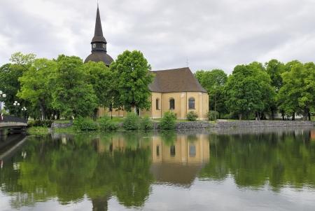 scandinavian peninsula: Cloisters Church in Eskilstuna  Sweden