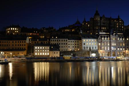 scandinavian peninsula: View of Stockholm