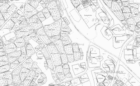 Old blueprint of a part in stockholm with all street and all stock old blueprint of a part in stockholm with all street and all properts names stock photo malvernweather Images