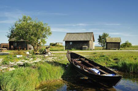 fishing village: Fishing village, Gotland, Sweden